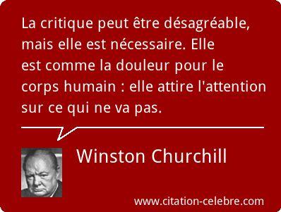 Winston Churchill :