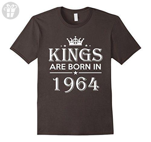 Mens 53rd Birthday Gifts Idea For Him/Men-53 Years Old King Shirt Large Asphalt - Birthday shirts (*Amazon Partner-Link)