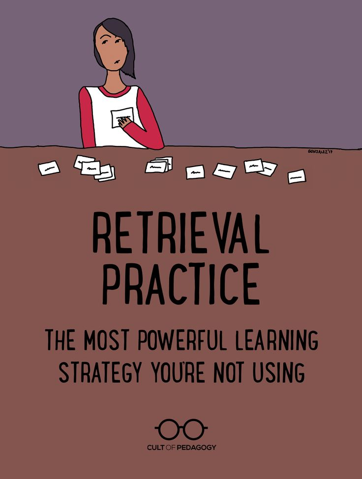 Nothing cements long-term learning as powerfully as retrieval practice. Learn how to incorporate it into your classroom. | Cult of Pedagogy