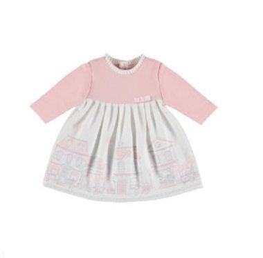 Dievčenské šaty Mayoral - Old pink