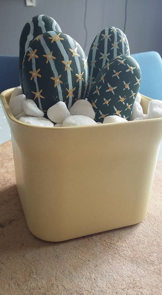 558 Best Pebbles And Stones Cactus Images On Pinterest
