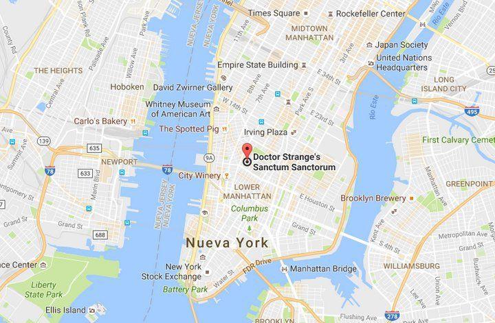 Doctor Strange New York Sanctum Sanctorum