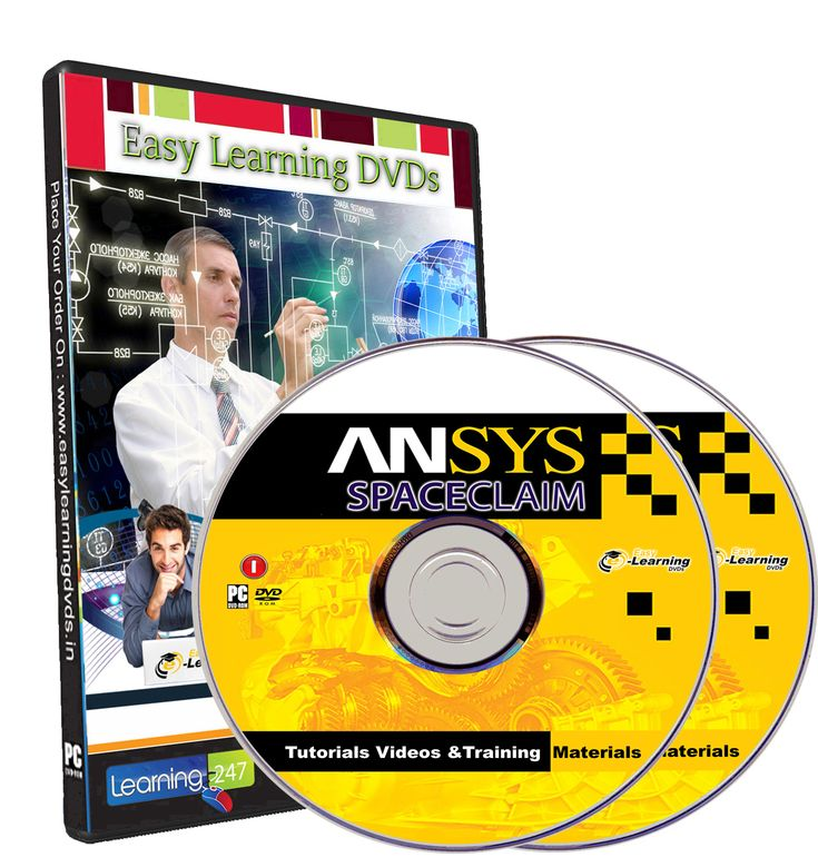 Ansys SpaceClaim Tutorials, Tutorial Videos And Training materials DVD