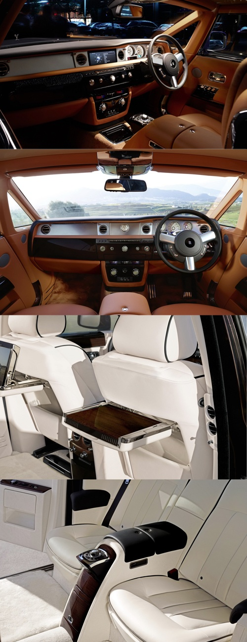 2013 Rolls Royce Phantom Interior via http://carscoop.blogspot.com/