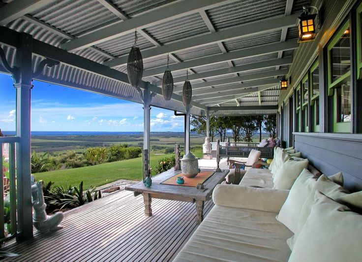 Beautiful bullnose verandah