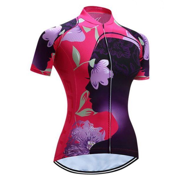 Bestselling Women S Designer Bike Jersey Cycling Top Free