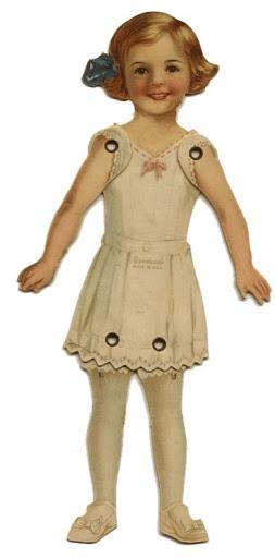antique hinged paperdoll – Bobe Green – Picasa Nettalbum
