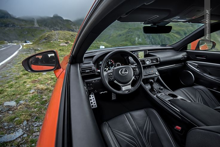 Lexus RC-F Carbon interior on Transfogarska pass.  #lexus #rc-f #transfogarska