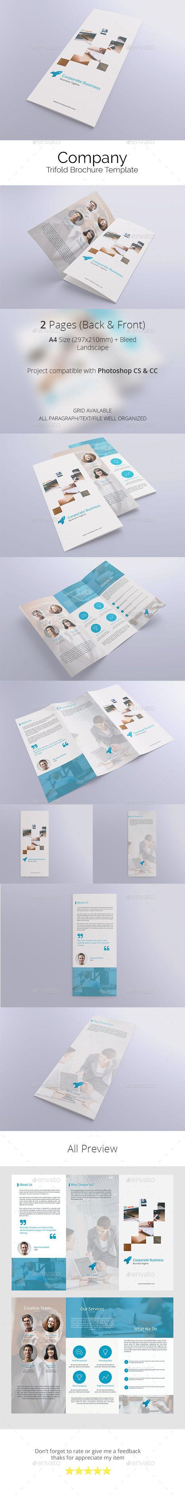 Company Trifold Brochure