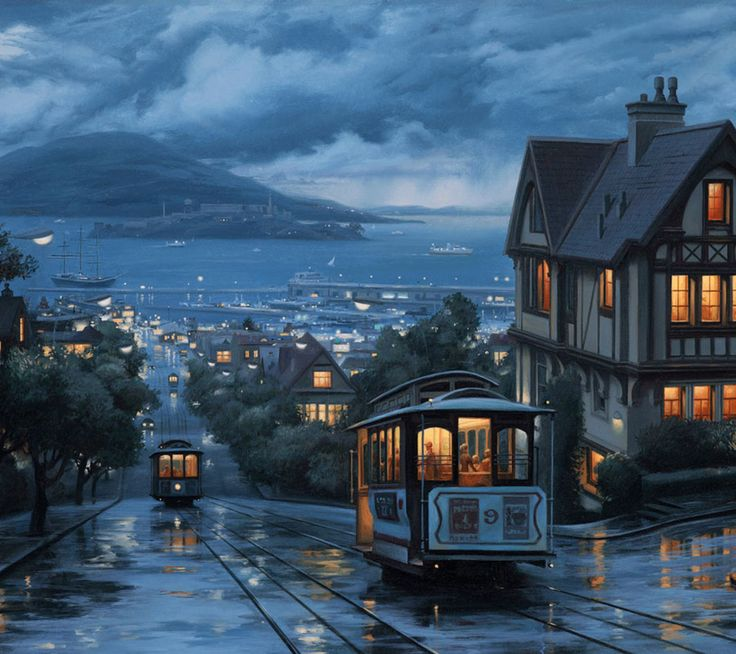 Rainy day in San Francisco - Excellent Picture