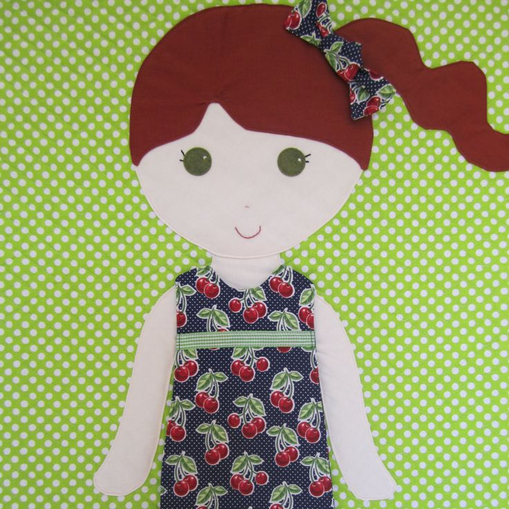 Paper Doll Blanket - brilliant!  Two sided for boy and girl; underwear made from Velcro sheet; pocket at bottom of trim for storing clothes