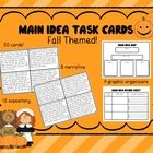 Main Idea is SUCH a hard concept for our little guys. The consistent practice and exposure is key to helping them understand and really apply this ... #classroom #centers #main idea #graphic organizers #reading