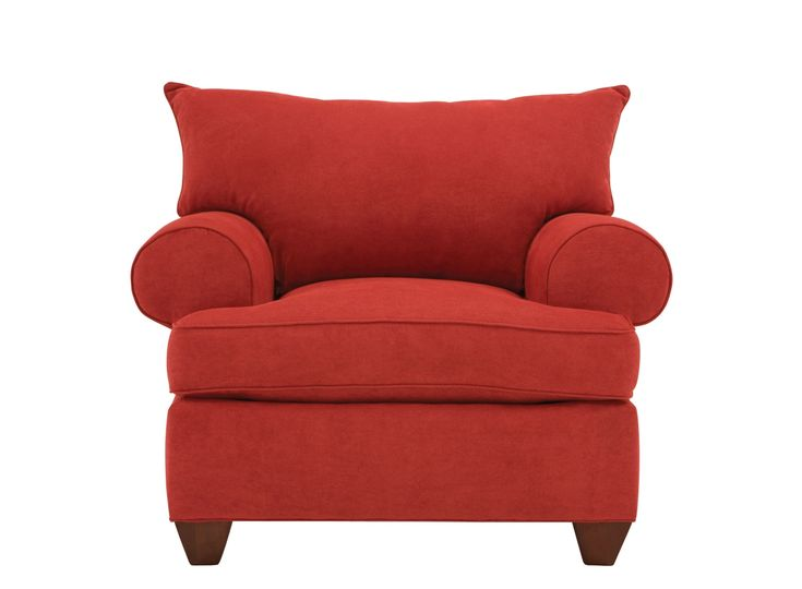 Like the city it's named after, this Vegas microfiber chair in red is a centerpiece for fun and luxurious living.  #myrfstyle #SweepsEntry