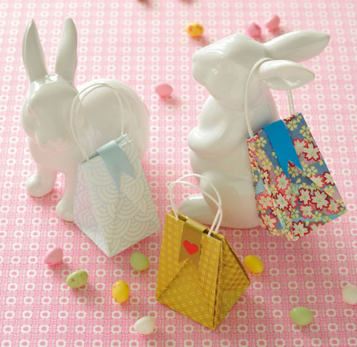 Origami Wedding Favour Mini Paper Bags | Create and Craft