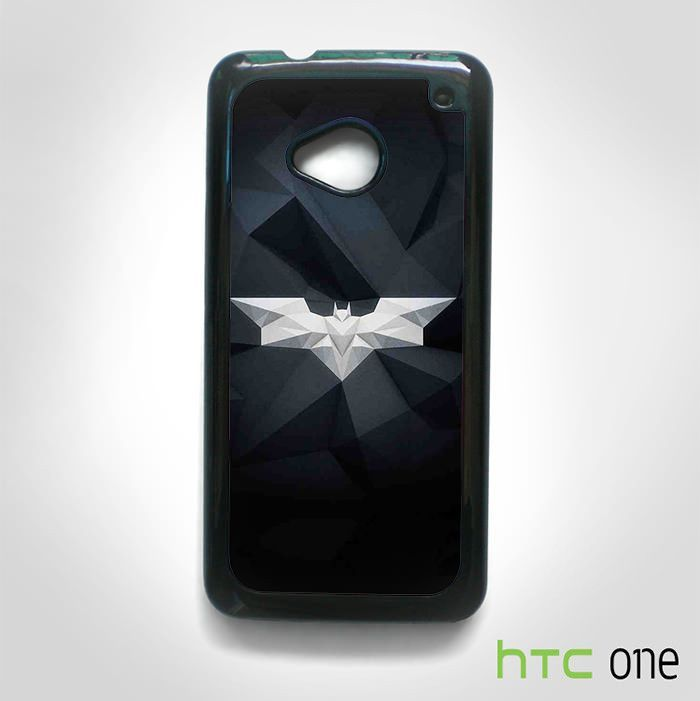 Batman logo Vector art style AR for HTC M7/M8/M9 phonecases