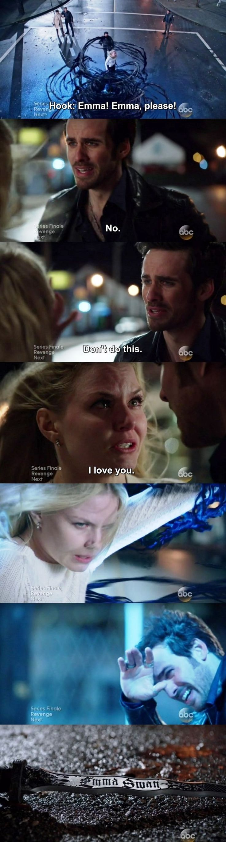 hook and swan once upon a time Captain killian hook jones is a fictional character in abc's television series once upon a time hook encounters emma swan and snow white in the enchanted forest.