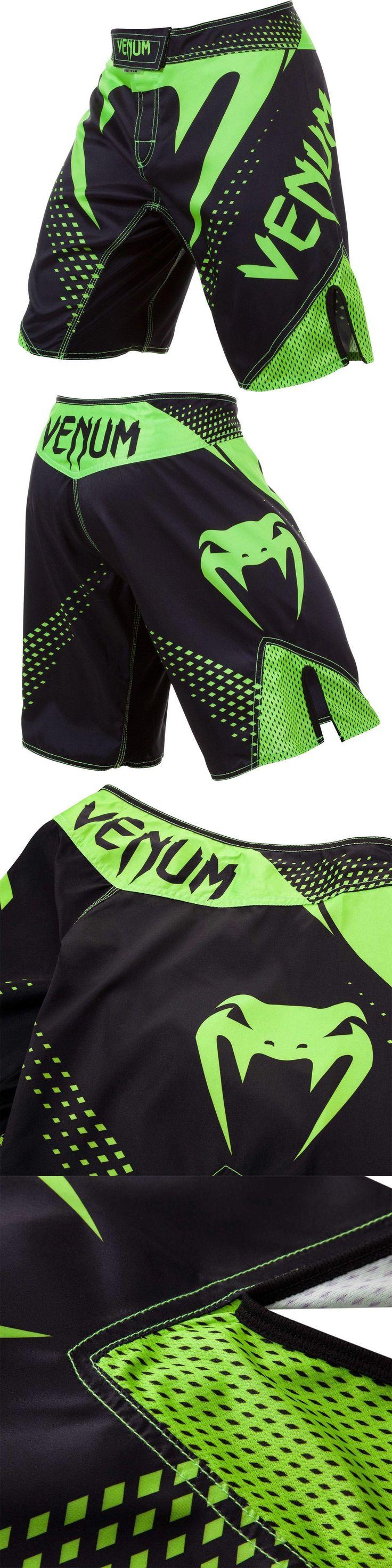 Shorts 73982: Venum Hurricane Fight Shorts - Black Neon Green Mma Bjj -> BUY IT NOW ONLY: $69.99 on eBay!