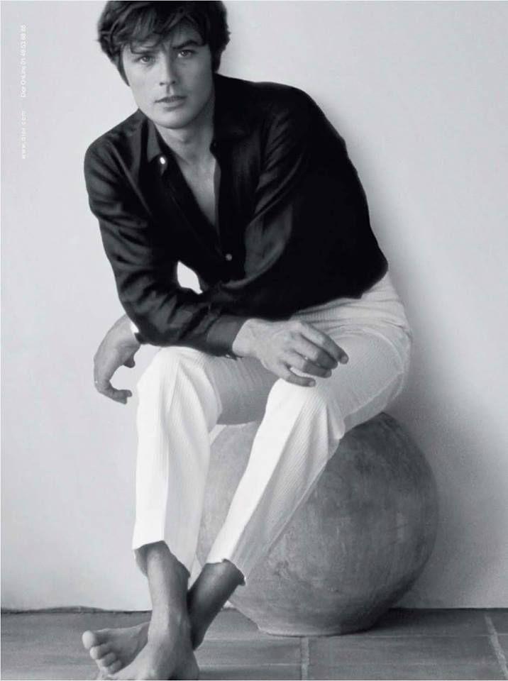 Alain Delon (pour Dior Eau Sauvage)