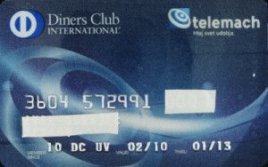 Diners Club International - tELEMACH (Diners Club SLO, Slovenia) Col:SI-DC-0004