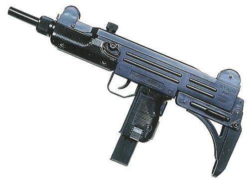 sub-machineguns dentre...