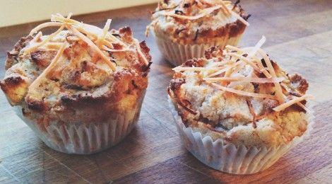 Koken met Fannetiek: Carrot Cake Muffins