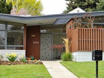 mid+century+modern+exterior   Rural Mid-Century Modern - midcentury - exterior - seattle - by ...