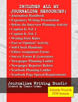 254 best journalism images on pinterest teaching ideas learning journalism writing and publications planning bundle ccuart Gallery