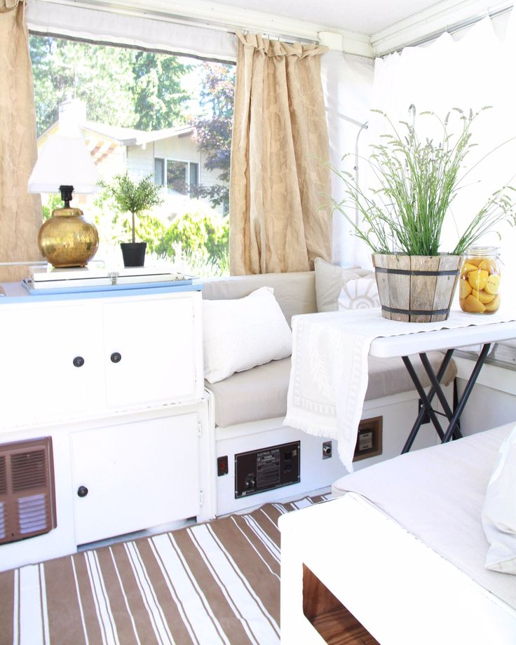 When camping isn't your thing - A Pop - Up - Trailer Tour - zevy joy  This is hands down my favorite!