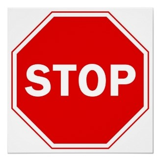 Stop Sign Posters | Classroom Ideas | Pinterest