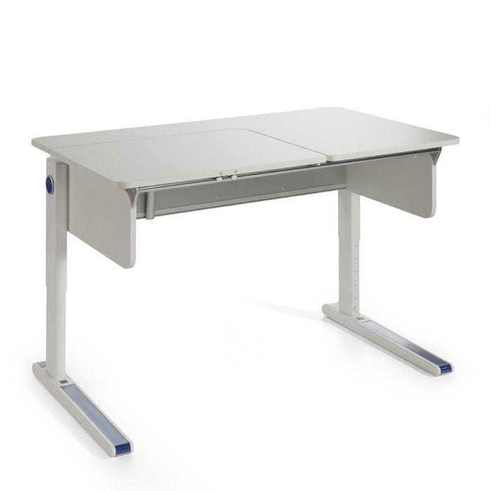 Moll Schreibtisch Champion Left Up 120 Cm Weiss Kunststoff In 2020 Moll Schreibtisch Schreibtisch Tisch