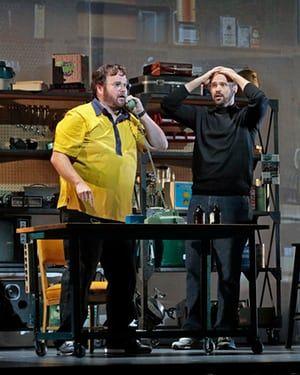 The characters of Steve Wozniak and Steve Jobs.