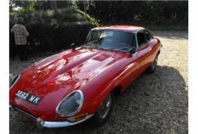 1962 JAGUAR E TYPE RED £12,000