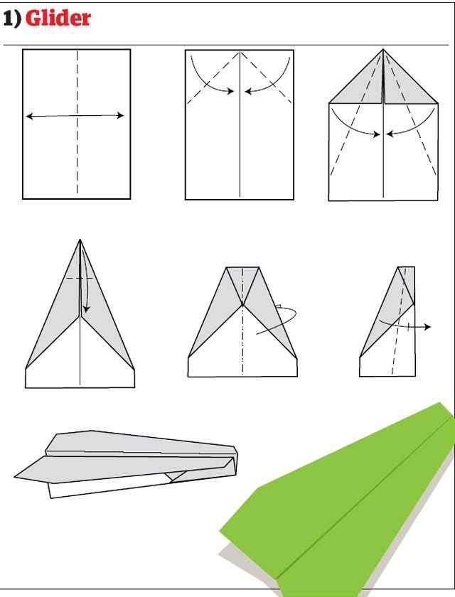 12 tipos de aviones de papel [Re subido] - Taringa!