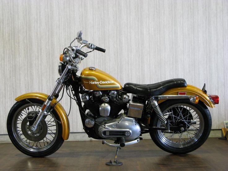 D A B A E D D A Sporty Dirt Bikes on 1975 Harley Davidson Ironhead Sportster Bobber