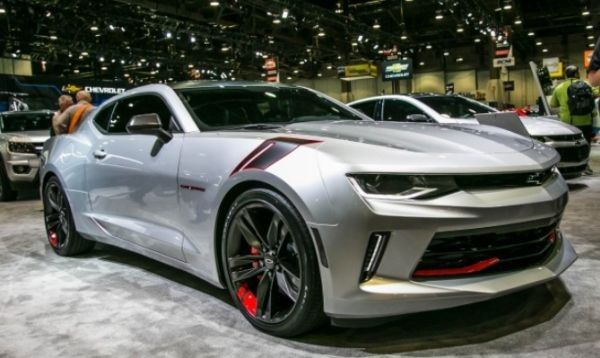 2016 Chevrolet Camaro Red Line