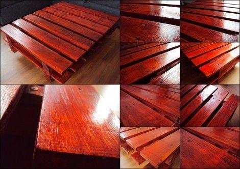 Stolik z palet – ostatnie starcie   Wkręceni w dom