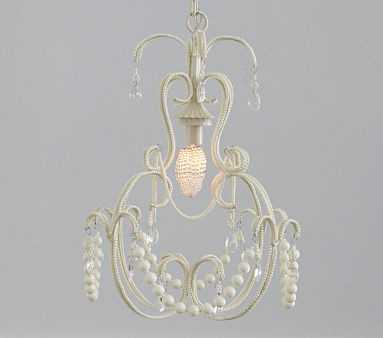 I love the White Beaded Chandelier on potterybarnkids.com: Beads Chandeliers, Gifts Ideas, Barns Kids, Chandeliers Potterybarnkid Com, Girls Chandeliers, Baby Girls, Girls Nurseries, Girls Rooms, Kids Rooms
