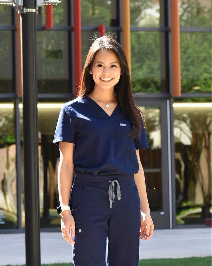 4fd188c18ed FIGS Scrubs in Navy #cutescrubs #scrublife #outfitinspo | FIGS in ...