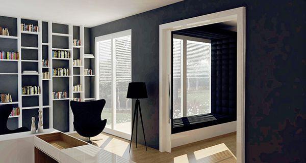 The frame house - interior