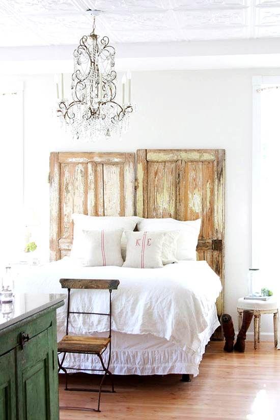 Dormitorio con aire vintage dormitorio bedroom - Dormitorios reciclados ...
