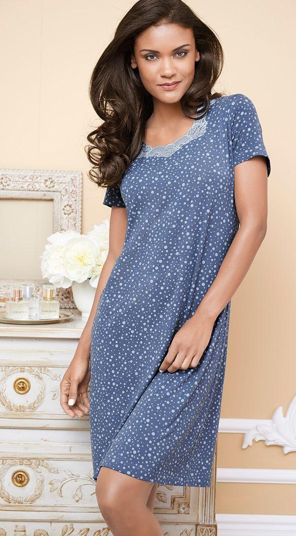 Embraceable™ Sleepshirt in Stardust print #SomaIntimates