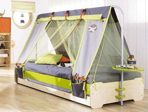 M s de 1000 ideas sobre camas para tienda de campa a en - Cama para nino de 2 anos ...
