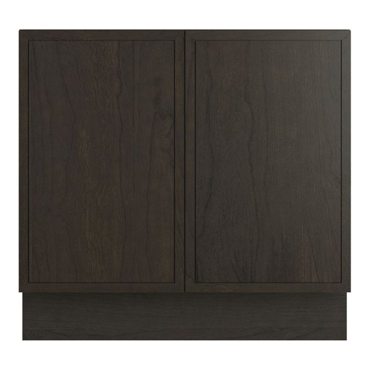 "Kohler K-99505-TK Jacquard 36"" Vanity Cabinet Only - Toe Kick Installation Type Felt Grey Fixture Vanity Single"