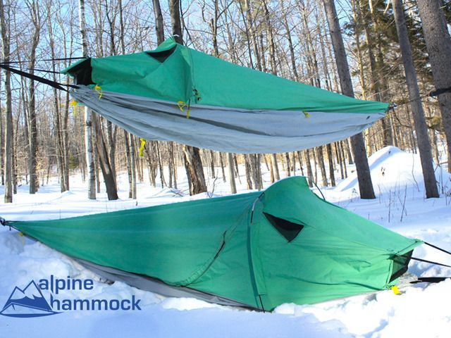 Help us to redesign the Alpine Hammock to avoid a patent lawsuit and keep it out on adventures!