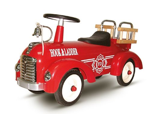 Out of the way, coming through! The Speedster Fire Truck will have little fire fighters jumping into action!