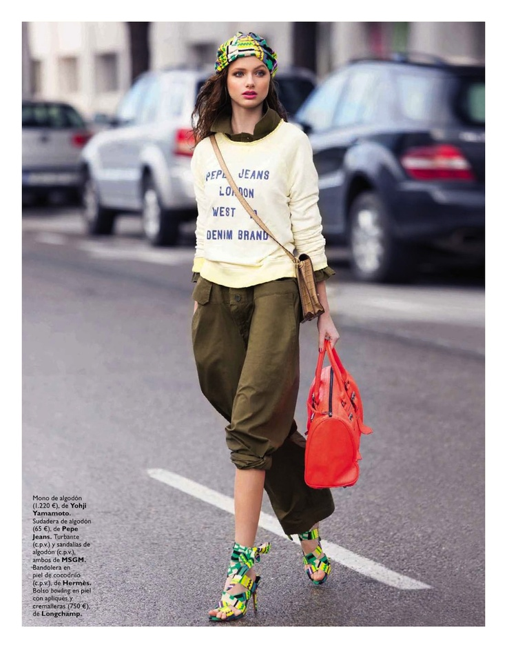 de la pasarela...: lina benitez by sebastian briech for grazia spain 3rd april 2013 | visual optimism; fashion editorials, shows, campaigns & more!