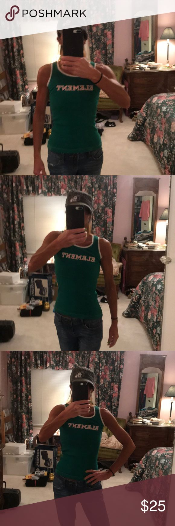 Element of surprise Like new Element tank top. Get a jump start on your spring and summer wardrobe with this fantastic tank top. No longer in circulation so definitely a great find! Free gift with purchase🎁 Element Tops Tank Tops