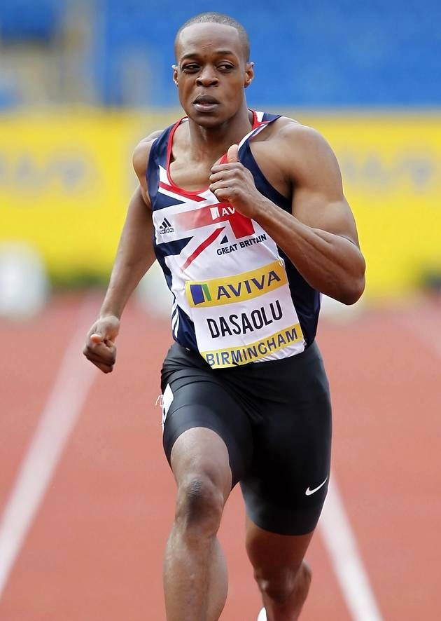 James Dasaolu - Athletics. 100m & 100m relay.
