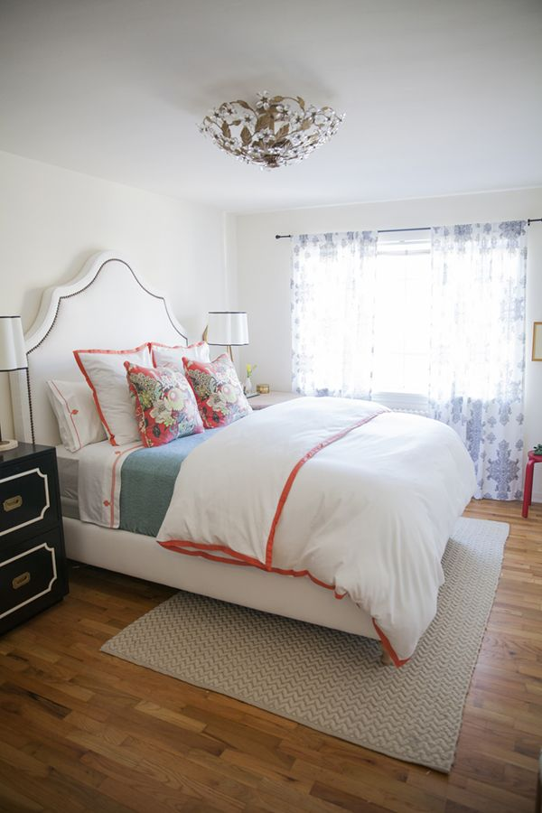my bedroom // cassandra lavalle house tour shot by katie parra #coral #white