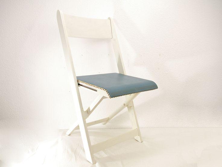 Marvelous Klappstuhl aus Holz alt weiss von Schl ter Kunst und Design St hle Kommoden Regale